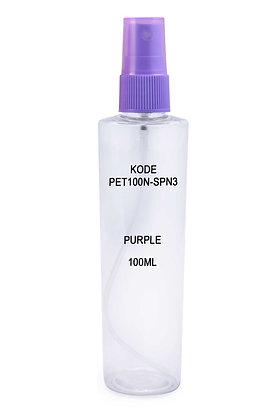 Sample PET 100ml Mist Sprayer Purple