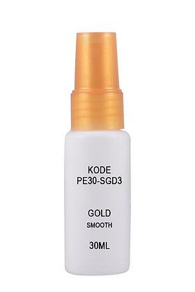 Sample HDPE 30ml Mist Sprayer-Gold Smooth