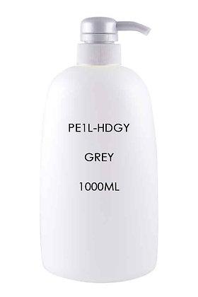 HDPE 1L - Pump Dispenser Grey