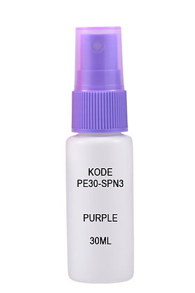 HDPE 30ml Mist Sprayer-Purple