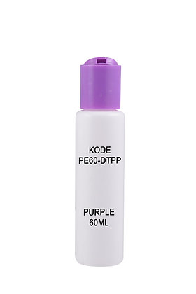Sample HDPE 60ml-Disctop Purple