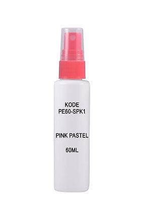 Sample HDPE 60ml-Sprayer Pink Pastel