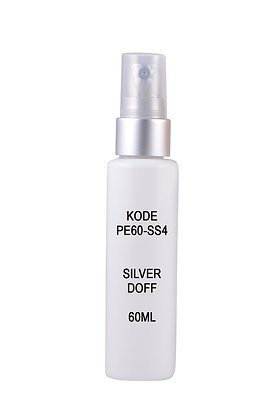 Sample HDPE 60ml-Sprayer Silver Doff