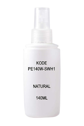 Sample HDPE 140ml White-Sprayer Natural