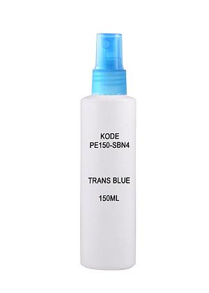 HDPE 150ml - Sprayer Trans Blue