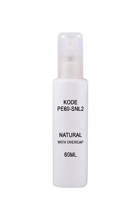 Sample HDPE 60ml-Sprayer Natural
