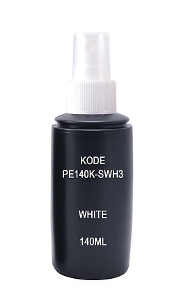 Sample HDPE 140ml Black-Sprayer White