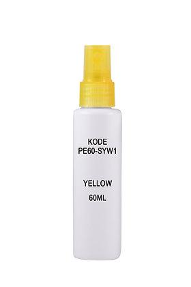 HDPE 60ml Mist Sprayer-Trans Yellow