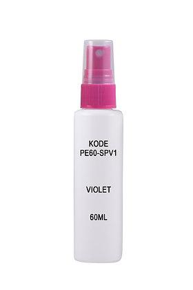 HDPE 60ml Mist Sprayer-Violet