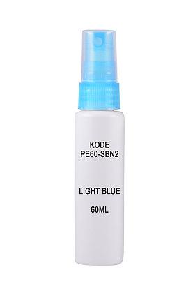 Sample HDPE 60ml-Sprayer Light Blue