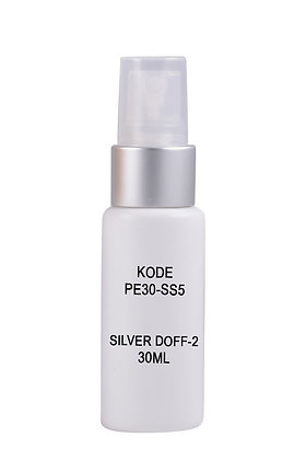 HDPE 30ml Mist Sprayer-Silver Doff Natural