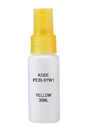 HDPE 30ml Mist Sprayer-Trans Yellow