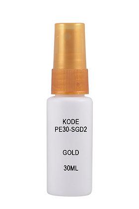 Sample HDPE 30ml Mist Sprayer-Gold