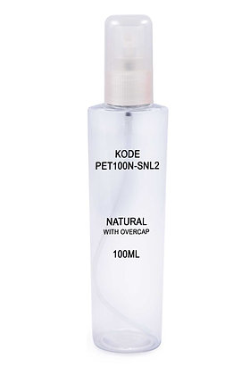 PET 100ml Mist Sprayer-Natural Overcap