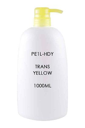 HDPE 1L - Pump Dispenser Trans Yellow