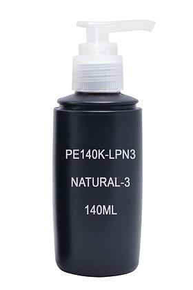 HDPE 140ml Black-Pump Natural 3