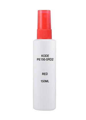 Sample HDPE 150ml - Sprayer Red