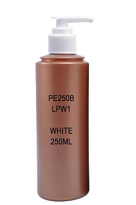 Sample HDPE 250 Brown - Pump White