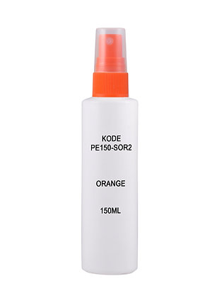 HDPE 150ml - Sprayer Orange