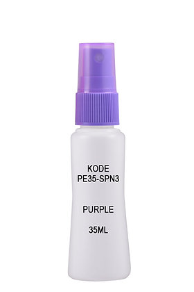 Sample HDPE 35ml Mist Sprayer-Purple