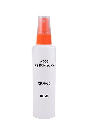 HDPE 100ml Mist Sprayer-Orange