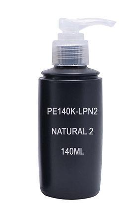 Sample HDPE 140ml Black-Pump Natural2