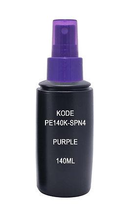 Sample HDPE 140ml Black-Sprayer Purple