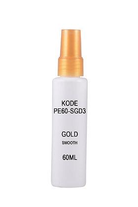 Sample HDPE 60ml-Sprayer Gold Smooth