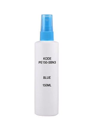 Sample HDPE 150ml - Sprayer Blue