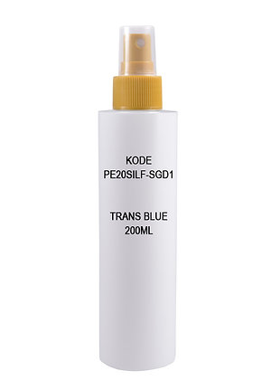 Sample HDPE 200ml - Mist Sprayer Gold