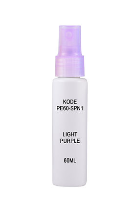 HDPE 60ml Mist Sprayer-Light Purple