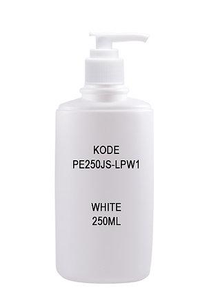 HDPE 250JS - Pump White