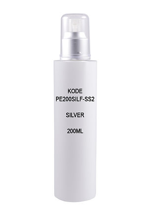 Sample HDPE 200ml - Mist Sprayer Silver