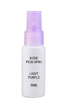 Sample HDPE 30ml Mist Sprayer-Light Purple