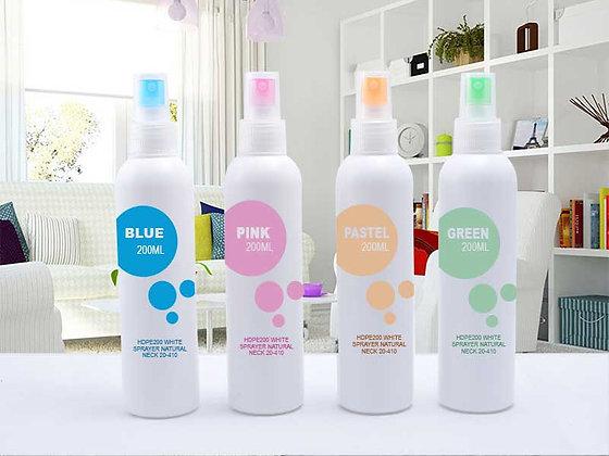 HDPE 200ml-White Mist Sprayer