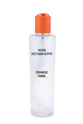 PET 100ml-Disctop Orange