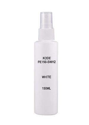 Sample HDPE 150ml - Sprayer White