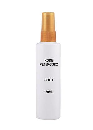HDPE 150ml - Sprayer Gold