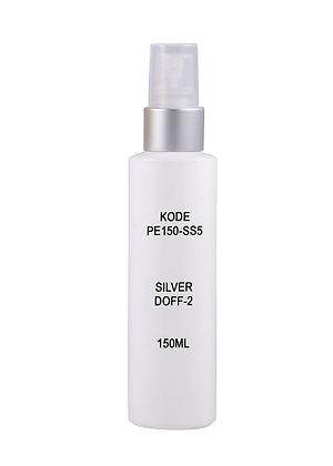 HDPE 150ml - Sprayer Silver Doff 2