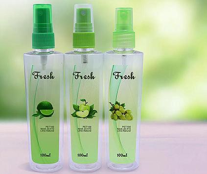PET 100ml Mist Sprayer Green