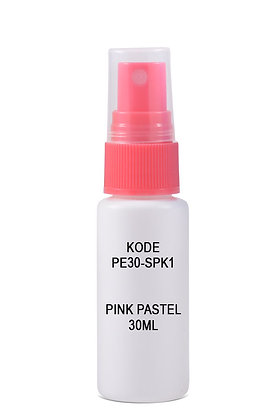 Sample HDPE 30ml Mist Sprayer-Pink Pastel