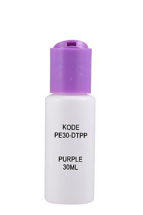 Sample HDPE 30ml-Disctop Purple