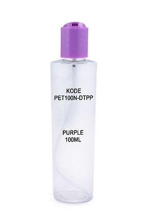 Sample PET 100ml Disctop-Purple