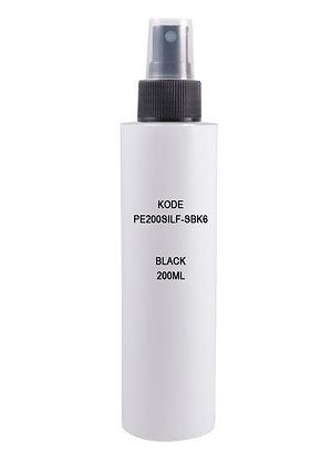 Sample HDPE 200ml - Mist Sprayer Black