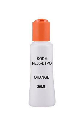HDPE 35ml-Disctop Orange