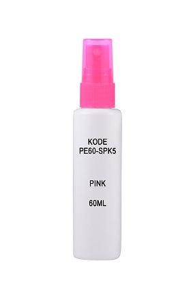 HDPE 60ml Mist Sprayer-Pink