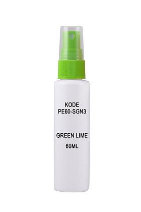 Sample HDPE 60ml-Sprayer Green Lime