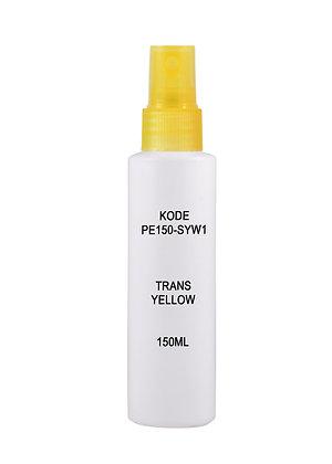Sample HDPE 150ml - Sprayer Trans Yellow