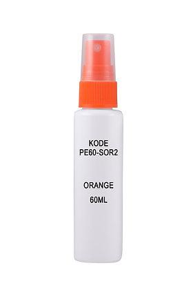 HDPE 60ml Mist Sprayer-Orange
