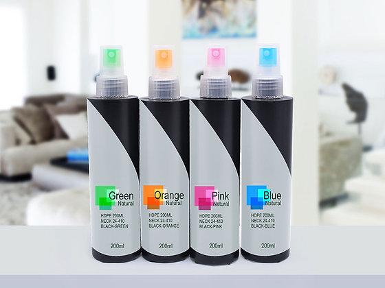 HDPE 200ml-Black Mist Sprayer